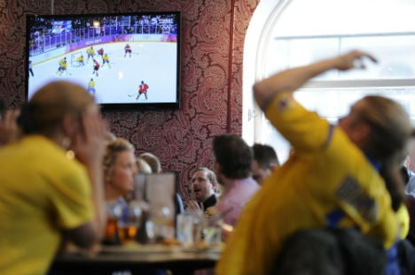 Swedes wilt in Olympic hockey final loss