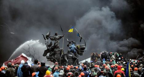 European ministers in Kiev for key talks