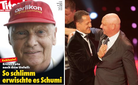 Lauda outraged by Schumacher mag cover