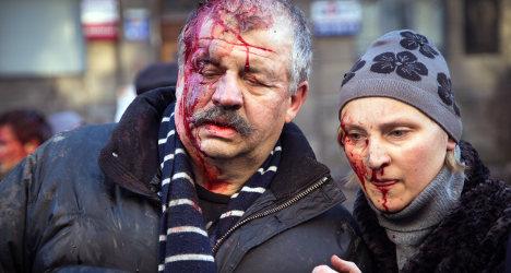 Ukraine: Paris and Berlin blast 'unacceptable' acts