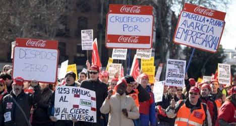 Zero tolerance to Coke plant closures