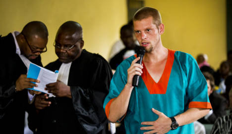 Norwegian found guilty of killing Congo cellmate