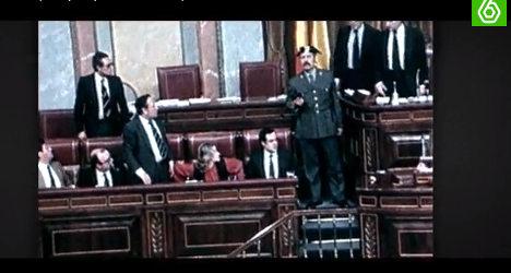 Fake coup film stuns Spanish public