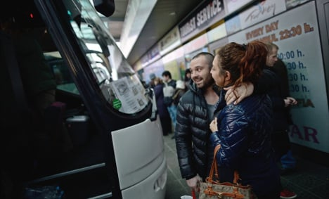 Thousands exit Germany for Bulgaria and Romania