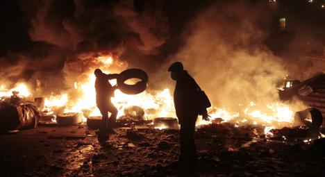 'Ukrainian president has blood on his hands': Bildt
