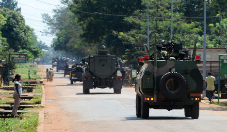 French troops 'stopping genocide' in CAR