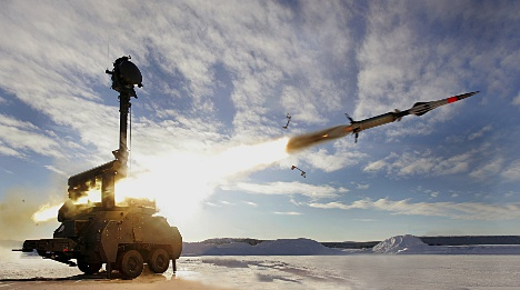 Swedish arms exporters enjoy roaring trade