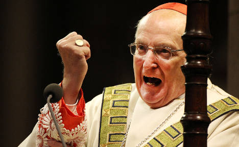 Cologne's controversial cardinal resigns