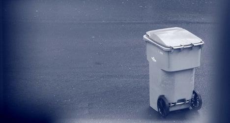 Pensioner's exploding trash causes mayhem