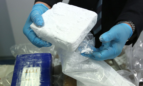 Top drugs officer 'had €250k of cocaine'