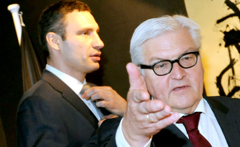 Germany: 'tortured' activist can leave Ukraine