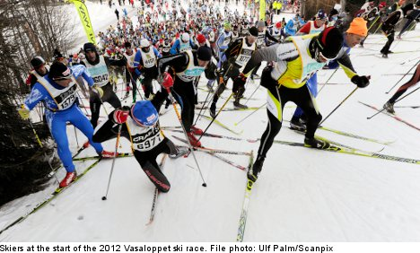 Vasaloppet skiers get longed-for go-ahead