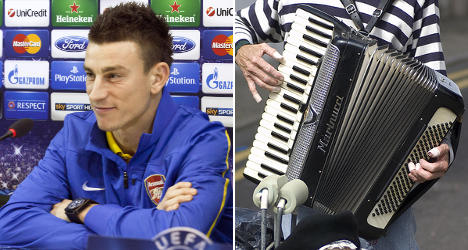 French footballer steps in to save accordion factory