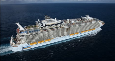 Barcelona: new home of the world's biggest liner