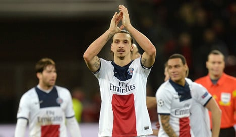 Zlatan nets hat trick in Toulouse thumping