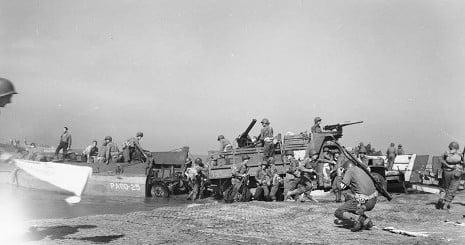 Remains of British WW2 soldiers found in Salerno