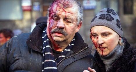 Ukraine risks 'civil war': Italian foreign minister