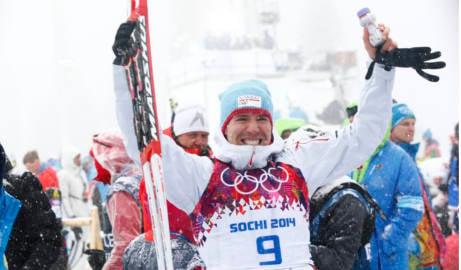 Svendsen's biathlon gold breaks losing streak