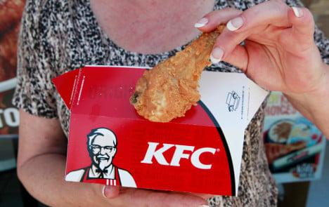 KFC's 'finger-lickin'-good' chicken heads to Sweden