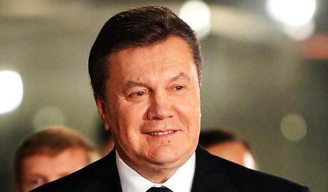 Swiss start Yanukovych money-laundering probe