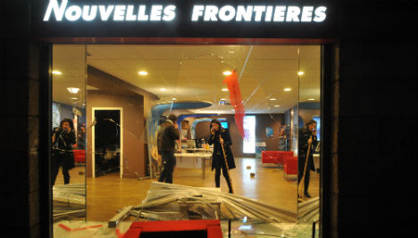 Anti-airport protesters go on rampage in Nantes