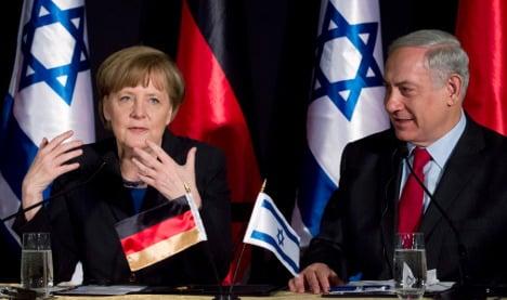 Merkel: Israeli settlement a 'grave concern'