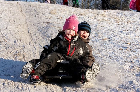 Weekend snow to erase early Swedish spring