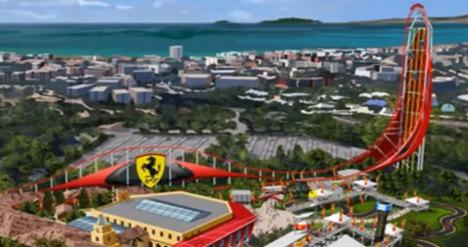 Ferrari to open €100m theme park in Spain