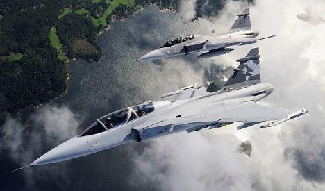 Bern cancels Swedish fighter-jet air show