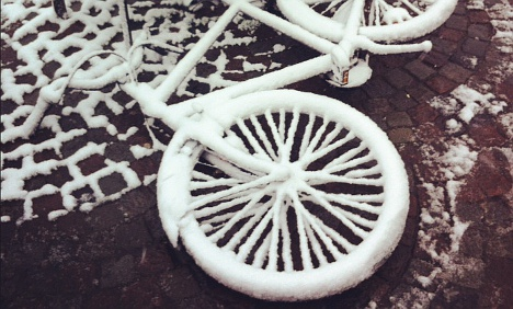 Sweden braces for spring-time snow storm