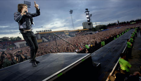 Rolling Stones set for high-priced Oslo gig