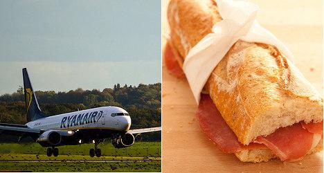 Ryanair sacks staffer for eating sandwich