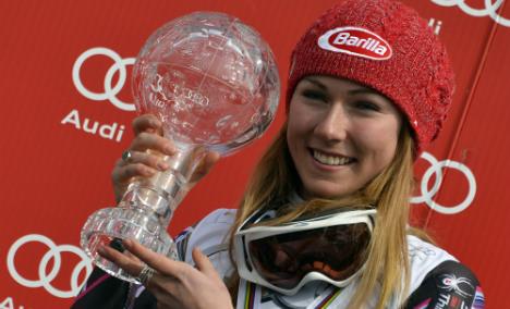 Insatiable Shiffrin wins Lenzerheide slalom
