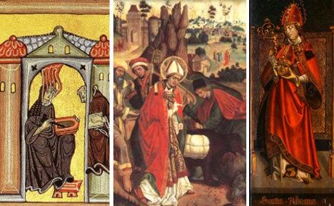 Headless and limbless: Germany's best saints