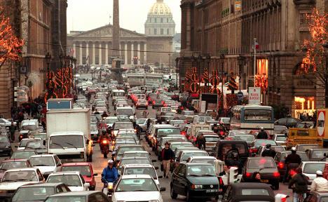 Did Germany contribute to Paris smog?