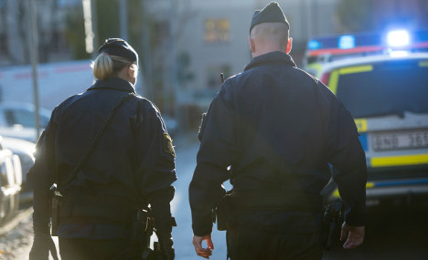 Stockholm man shot in the back of the head