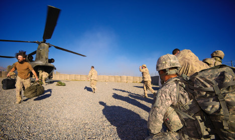 Swedish army translator flees Afghanistan