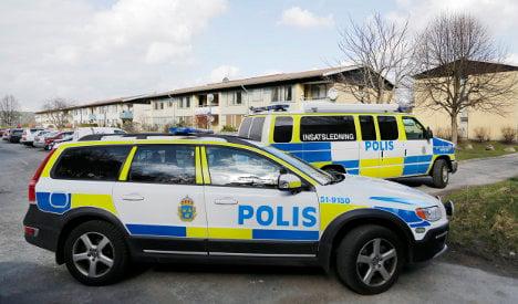 Swedish cops shoot spear-wielding man dead