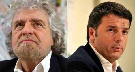 PM warns of 'populist' Grillo votes in EU
