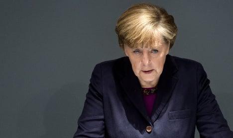 Merkel: we'll increase sanctions on Russia