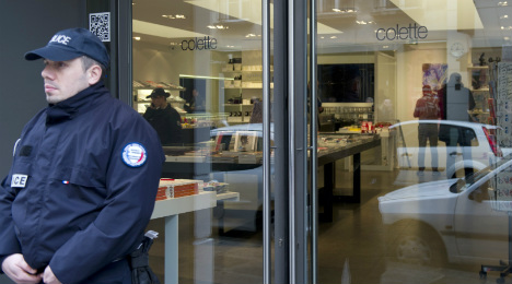 Thieves hit trendy Colette concept store in Paris
