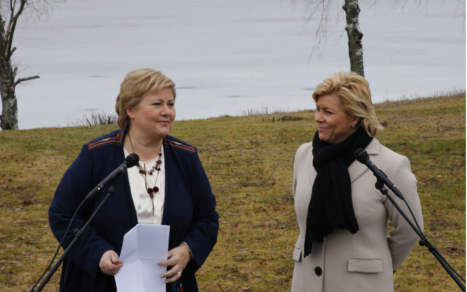 Norway's PM warns against tapping oil fund