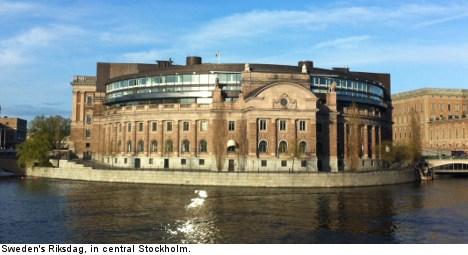 Mystery woman found asleep in Riksdag