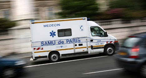 Frenchman's sinuses stop suicide bullet