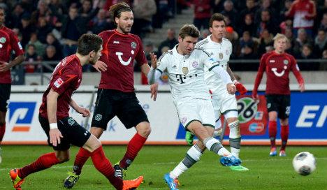 Bayern's Müller sure of Bundesliga title win