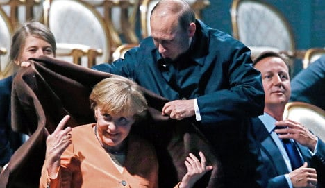 'Putin is the dealer, Germany the junkie'