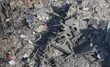 House blast kills four, leaves 15 injured
