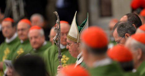 Italians losing centuries-old grip on Vatican