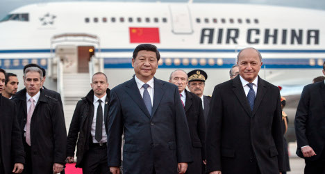 France and China to get down to business