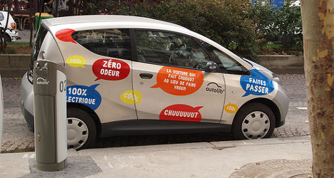 Paris car-sharing scheme Autolib' set for London